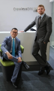 New Partner Promotion: David Coombes and Vincent Teo