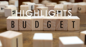 Highlights from Budget 2020