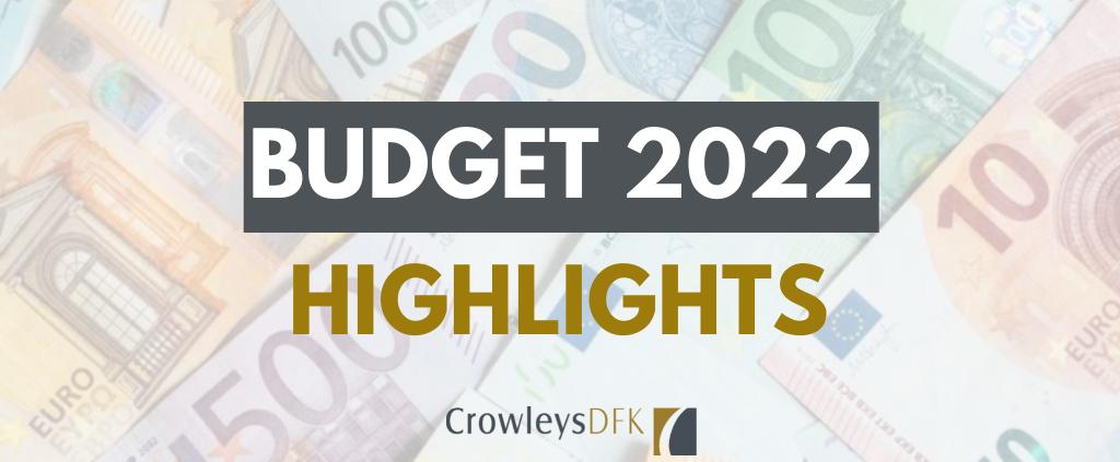 Budget 2022 Highlights