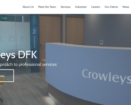 Crowleys DFK New Website