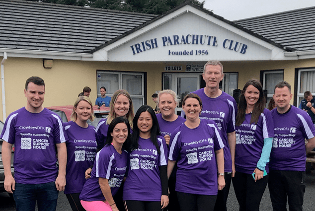 Skydive Raises OVER €6,500 For Cork Arc in June 219