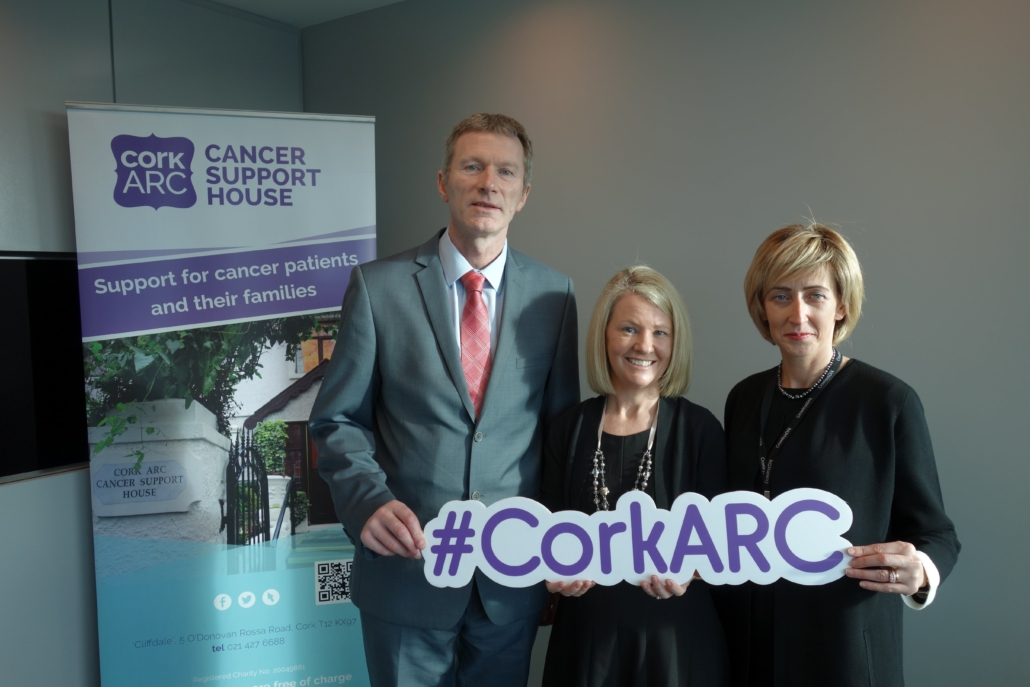 Our Charity Partner for 2019 is Cork ARC Cancer Support