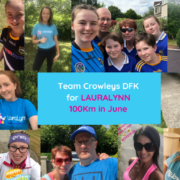 Crowleys DFK visit DFK USA and DFK Canada in aid of LauraLynn